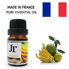 JR Bergamot Natural & Pure Therapeutic Grade Essential Oil Compatible for Oil Burner / Humidifier/ Air Purifier/ Aroma Diffuser - From FRANCE Rose Essential Oil, Therapeutic Grade Essential Oils, Oil Burners, Aroma Diffuser, Humidifier, Air Purifier, Bergamot, Feel Good, Fragrance