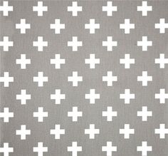 Contemporary Grey Fabric by the Yard Designer Geometric Drapery ...