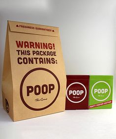 Loving this POOP The GAME: Brown Bag Set on #zulily! #zulilyfinds