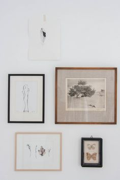 Bedroom makeover // Avenue Lifestyle // Art Wall // Frames // Home Decor Bedroom Art, White Bedroom, Calm Bedroom, Bedroom Makeover Before And After, Natural Bedroom, Deco Boheme, Inspiration Wall, Wall Collage, Wall Art