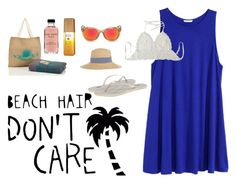 """Beach, I'm ready"" by windysumongga on Polyvore"