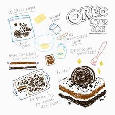 김혜빈 @moreparsley OREO layer cake ...Instagram photo | Websta (Webstagram)
