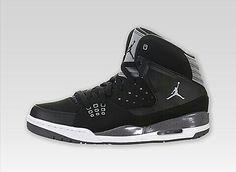 Air Jordan SC-1 Black, Gray and White