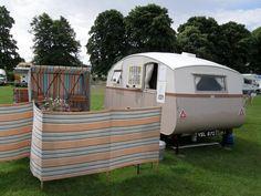 My 1933 Winchester caravan taken at Evesham Air Balloon Show in 2010.