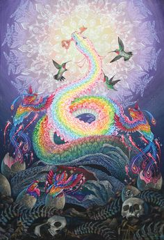 The Rise of Sachamama (Mother of the Forest/Water) - by Jessica Perlstein. She is said to know the way to the Garden.