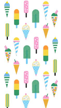 Lauren Gentry - ice-cream iphone wallpaper | Poolga