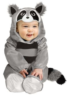 Baby Raccoon Toddler Costume from Reel in the Deal - Halloween Costumes and Party Supplies.