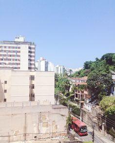 Der Ausblick aus meinem Apartment! Auf der einen Seite einehellip