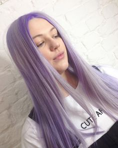 Lilac hair by VoodouLouise at our Bold Street hair salon, Liverpool  #hairgoals #pastelhair