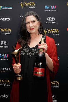 Pamela Rabe Photos: 5th AACTA Media Room Presented by Presto