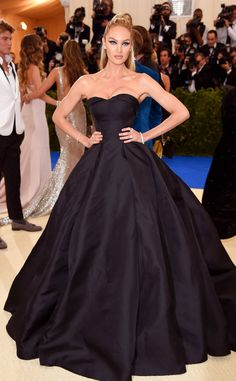 Candice Swanepoel from 2017 Met Gala: Red Carpet Arrivals