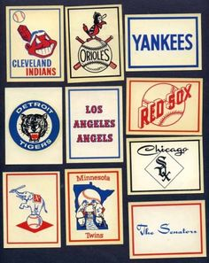Love retro design, especially baseball related.