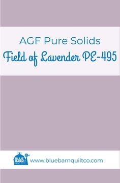 $18 CAD per yard AGF Pure Solids Field of Lavender PE-495. Premium PIMA Cotton 44″ wide, The purest hues meet Art Gallery Fabrics' soft hand and superior quality. All the solids you have been looking for to match your collections are here! Sold by the 1/4 yard or in Fat Quarters, ships to Canada and USA.   #agfsolids#agfpuresolids #longarmquilting   #ilovequilting#quiltersdream #fabriclove #canadianquiltshop #sewcanadian #onlinequiltshop #onlinequiltstore #onlinefabricshop Met Art Galleries, Art Gallery Fabrics, Longarm Quilting, Fabric Shop, Superior Quality, Fat Quarters, Quilt Patterns, Lavender, Ships