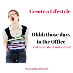Friend of mine just reminded me to appreciate my #HomeOffice, it's just brilliant.  Create YOUR #Lifestyle! #Gratitude http://www.agnesbogardi.com/those-office-days/