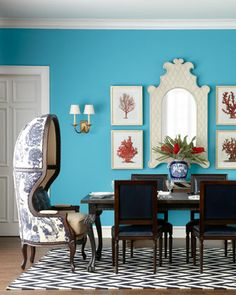 that chair! - Massoud Mix-and-Match Dining Furniture - Horchow