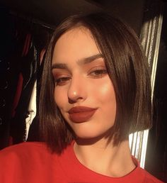 50 Chic Short Bob Hairstyles & Haircuts for Women in 2019 - Style My Hairs Beauty Makeup, Hair Makeup, Hair Beauty, Pelo Guay, Hair Inspo, Hair Inspiration, Summer Haircuts, Grunge Hair, Messy Hairstyles