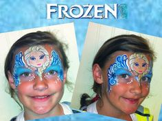 Frozen Face Painting All That Jazz Face Painting/Facebook