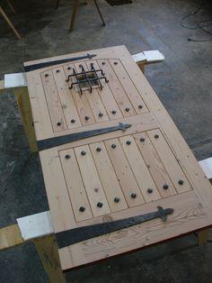 10)Brideau door unfinished