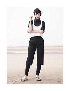 visual optimism; fashion editorials, shows, campaigns & more!: sur le sable: edie campbell by karim sadli for vogue paris november 2013