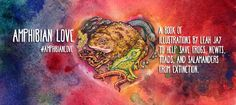 Cover2_BANNER3 Love Illustration, Science And Nature, Amphibians, Jay, Artwork, Books, Money, Awesome, Work Of Art