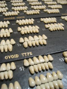 antique porcelain teeth by Amanda_Louise, via Flickr