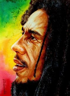 """a portrait of my idol """" bob marley"""" rasta man Bob Marley Dibujo, Bob Marley Kunst, Arte Bob Marley, Reggae Bob Marley, Breaking Bad, Fotos Do Bob Marley, Bob Marley Painting, Rastafari Art, Bob Marley Pictures"""