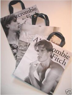 Abercrombie Shopping Bags | Abercrombie and Fitch shopping bag ...