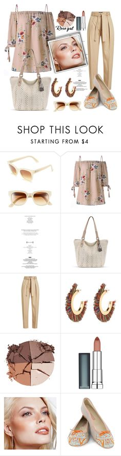 """""""Rosegal Contest"""" by pesanjsp ❤ liked on Polyvore featuring Electric, StyleNanda, Polo Ralph Lauren, lilah b., Maybelline, Avon and MEHER KAKALIA"""
