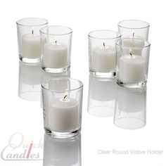Set of 144 Votive Candle Holders and 144 Votive Candles - $80!