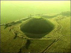 Silbury Hill - The largest man-made mound in Europe, mysterious Silbury Hill compares in height and volume to the roughly contemporary Egyptian pyramids. Probably completed in around 2400 BC, it apparently contains no burial. Though clearly important in itself, its purpose and significance remain unknown. There is no access to the hill itself.