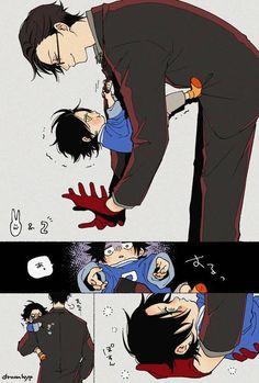 Don't know what anime this is, but it's cute! Anime Comics, Kawaii Anime, Anime Meme, Manga Anime, Character Art, Character Design, Familia Anime, Image Manga, Anime Kunst
