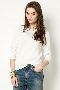 Pointelle Pullover   -2 colors available -Material: cotton -Price: €100