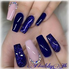 20 Best Summer 2019 Nail Polish Color Trends Duochrome Nail Polish Glitter Nail Designs for a Sparkly, Shiny, Shimmery Manicur Nails For Party And Office Use With Unique Fashion Picture Credit Colorful Nail Designs, Beautiful Nail Designs, Cute Nail Designs, Beautiful Nail Art, Art Designs, Gel Nails At Home, My Nails, Purple Nails, Glitter Nails
