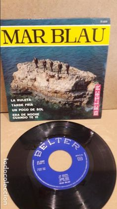 MAR BLAU. LA RULETA. EP / BELTER - 1968 / MBC. ***/***