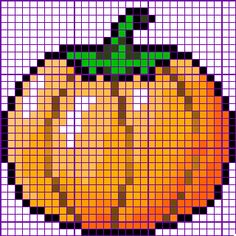 Image detail for -This free pumpkin cross stitch pattern would be ideal to utilize ...
