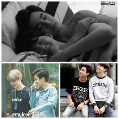 Ae & Pete - Love by Chance Cute Guy Pics, Cute Guys, Cute Emo Boys, Boys Like, Korean Couple, Best Couple, Cute Relationship Goals, Cute Relationships, Shonen Ai