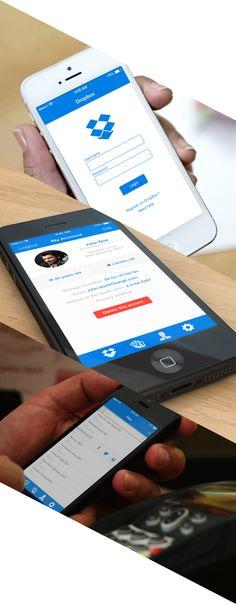 Dropbox App on App Design Served