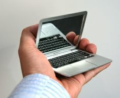 Looks like a MacBook Air - but it's a compact!