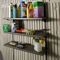 3 Piece 30in Shelf Storage Shed Accessory Kit Review  Https://garagestorageusa.info