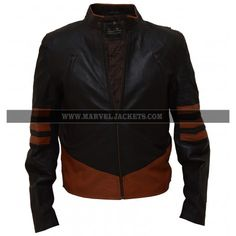 No Figure L Size Black Faux Leather Coat for Marvel Seltect The Wolverine Logan