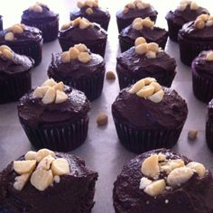 Nutella filled cupcakes