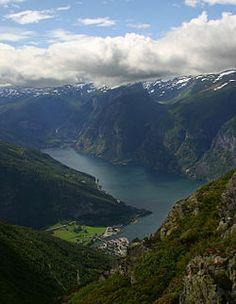 Valle de Aurland Noruega