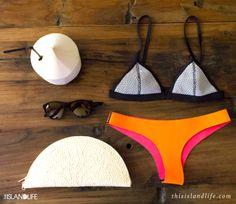 10 Best F L A T L A Y images | Flatlay styling, Bikinis