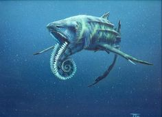 Helicoprion, a prehistoric shark