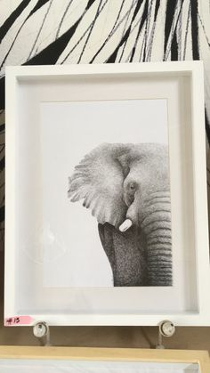 Elefante 13 - Veronica Reynal - @verentinta - dibujo en tinta #dibujo #dibujoentinta #tintanega #elefantes Frame, Home Decor, Elephants, Ink, Drawings, Picture Frame, Decoration Home, Room Decor, Frames