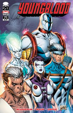 The first title to be released under the Image banner gets a revamp with issue 71. And creator Rob Liefeld guest pencils!