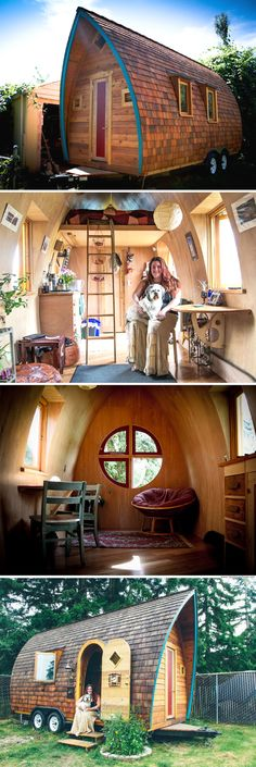 The Fortune Cookie tiny house