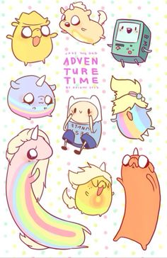 Adventure Time! Inspiration for chibi?