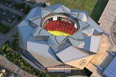 Mercedes-Benz Stadium unveiled as Atlanta Falcons' Next Home