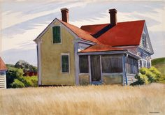 Edward Hopper - Marshall's House, 1932